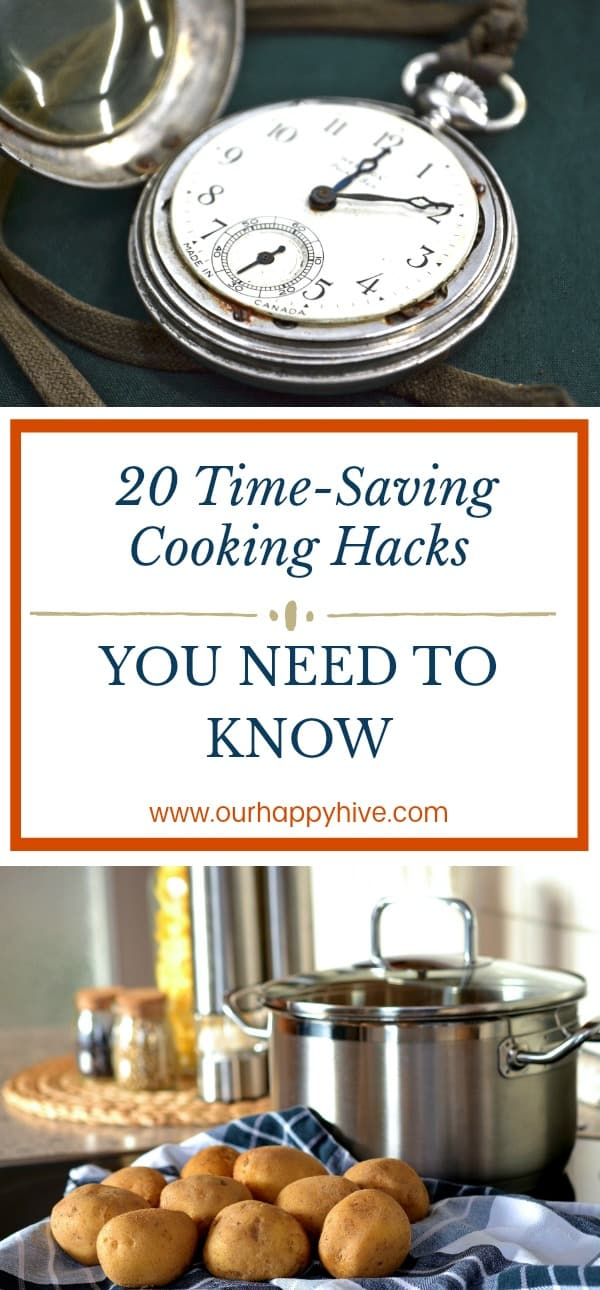 #cookinghacks #savetime #dinner #dinnertime #cooking #productivity #hacks #kitchen #ourhappyhive