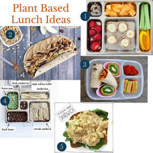 Whole Food Plant Based Vegan School Lunches