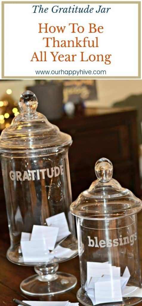 The Gratitude Jar How To Be Thankful All Year Long