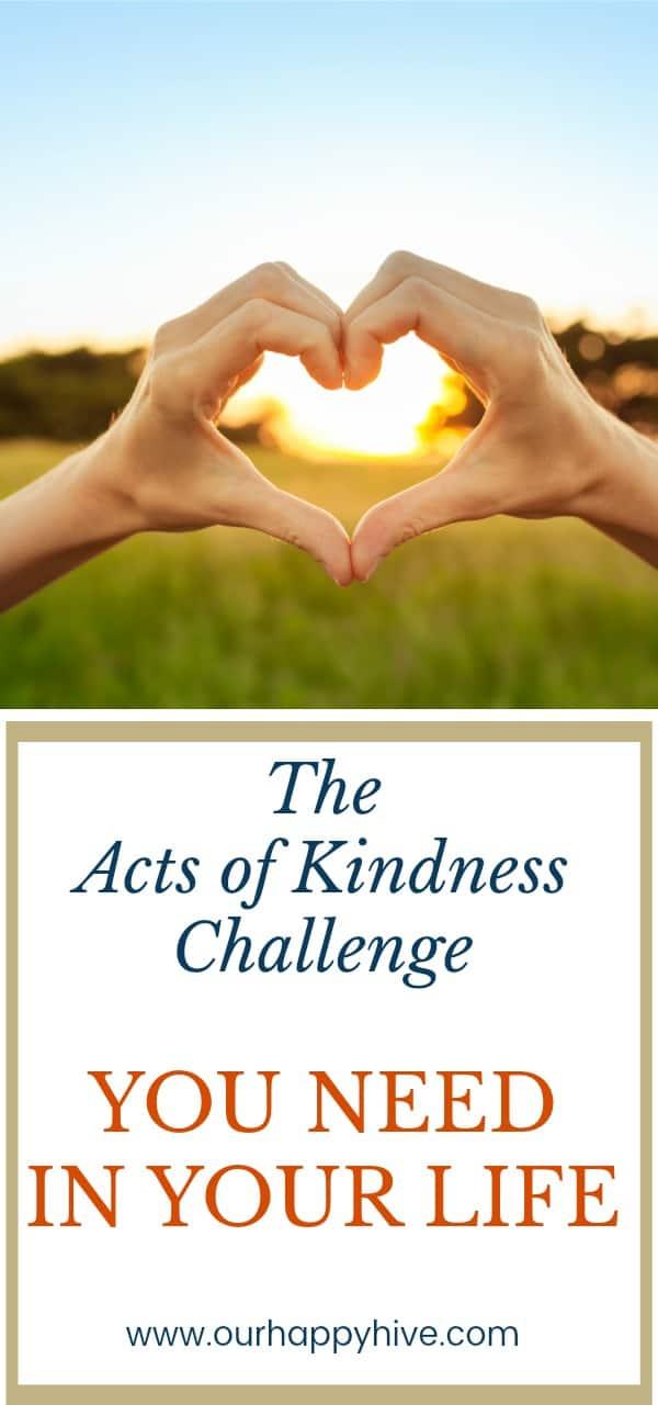 #actsofkindness #randomactsofkindness #30daychallenge #payitforward #challenge #ourhappyhive #volunteer #babysit #snowshoveling #buycoffee