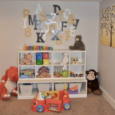 Learn about a simple solution to organize and declutter your kids play room and what happened when we removed 75% of our kids toys! | organize, declutter, play room, home hacks, toy rotation, #toyrotation #toyorganization #playroomorganization #decluttering
