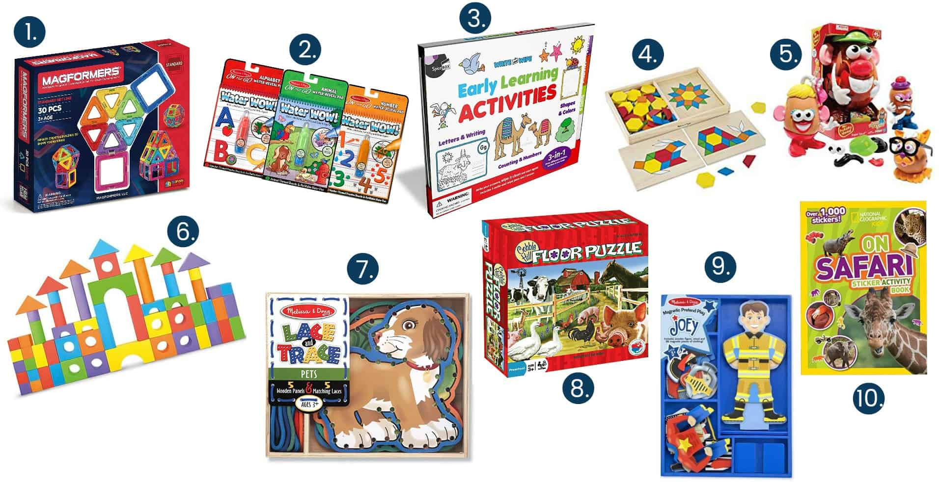 10 games and activities for preschoolers