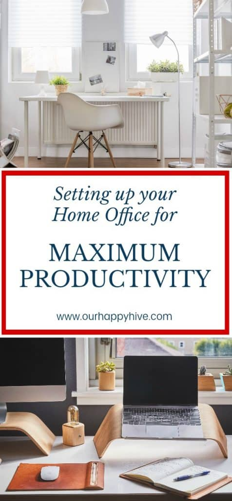 #homeoffice #WAHM #remoteworker #homeofficeessentials #productivity #productivityhacks #virtualworker #ourhappyhive