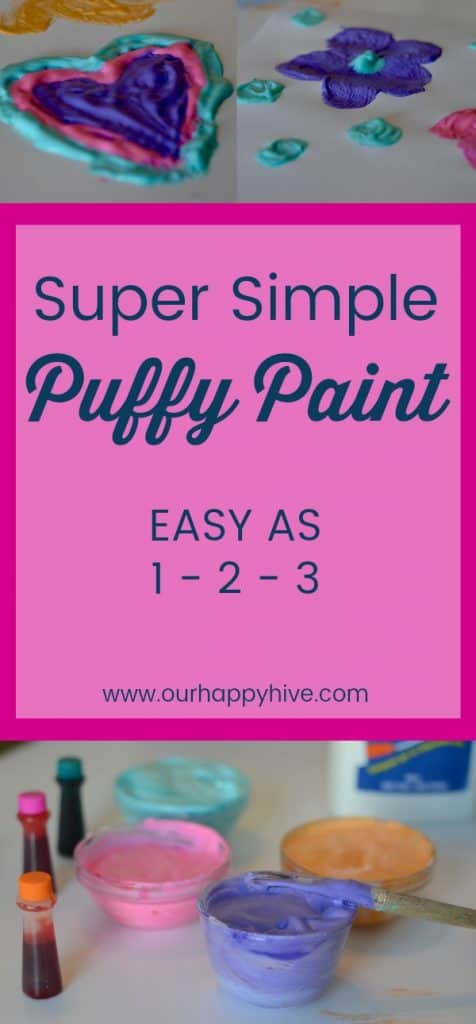 #puffypaint #kidscraft #preschooler #crafts #cheap #kidsactivities #ourhappyhive