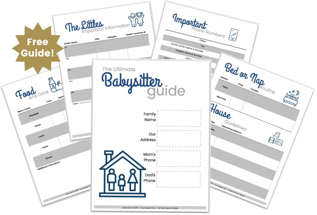 Screenshot of The Ultimate Babysitter Guide - Free Guide.
