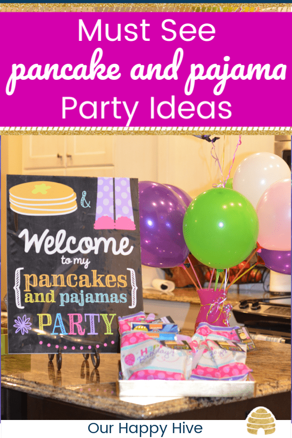 Must See Pancake   Pajama Party ideas - Our Happy Hive c7e86f18c